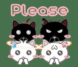 Angel Cat sticker #259977