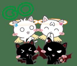 Angel Cat sticker #259979