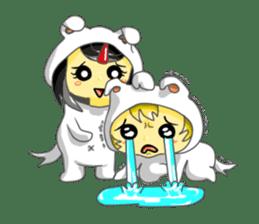 Yuki & Moji sticker #260466