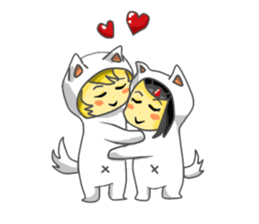 Yuki & Moji sticker #260471