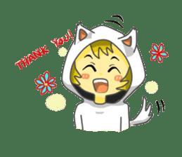Yuki & Moji sticker #260483