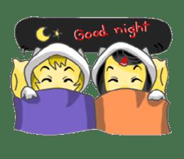Yuki & Moji sticker #260494