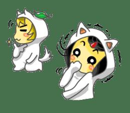 Yuki & Moji sticker #260495