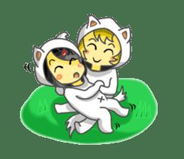Yuki & Moji sticker #260504