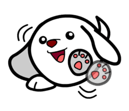 Toy Capsule Dogs<1> sticker #260906