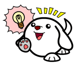 Toy Capsule Dogs<1> sticker #260921