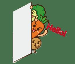 Crazy Vegetable sticker #261065
