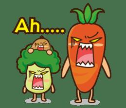 Crazy Vegetable sticker #261068