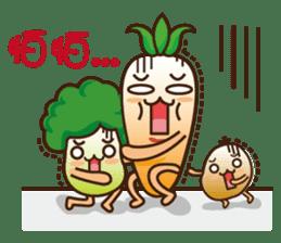 Crazy Vegetable sticker #261076