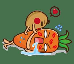 Crazy Vegetable sticker #261081