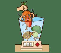 Crazy Vegetable sticker #261082