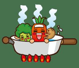 Crazy Vegetable sticker #261087