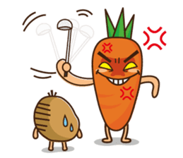 Crazy Vegetable sticker #261091