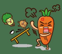Crazy Vegetable sticker #261092