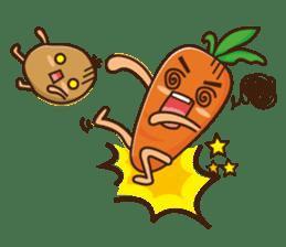 Crazy Vegetable sticker #261099