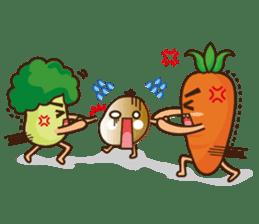 Crazy Vegetable sticker #261100