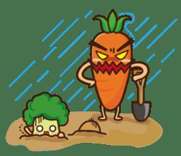 Crazy Vegetable sticker #261101
