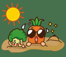 Crazy Vegetable sticker #261103