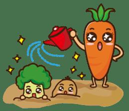 Crazy Vegetable sticker #261104