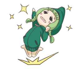 Sensai Girl sticker #261105