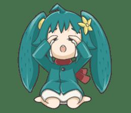 Sensai Girl sticker #261111