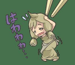 Sensai Girl sticker #261113