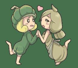 Sensai Girl sticker #261115
