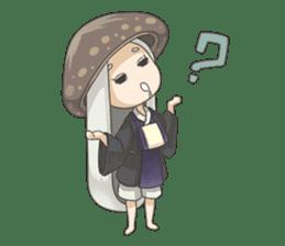 Sensai Girl sticker #261121