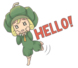 Sensai Girl sticker #261122
