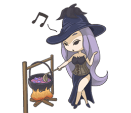 Sensai Girl sticker #261129