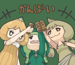 Sensai Girl sticker #261134