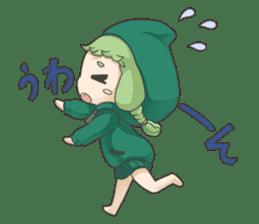 Sensai Girl sticker #261136