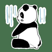 Chubby panda sticker #261154