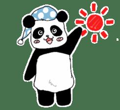 Chubby panda sticker #261173