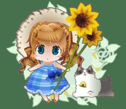 Princess's Happy Summer sticker #262358