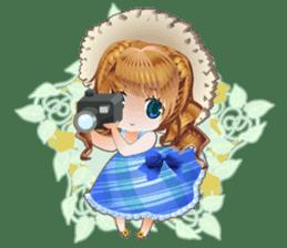 Princess's Happy Summer sticker #262360