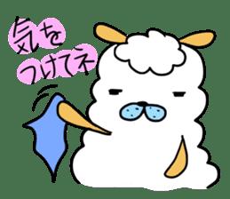 To you a worrier.Alpaca Part 1 sticker #262945