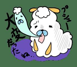 To you a worrier.Alpaca Part 1 sticker #262949