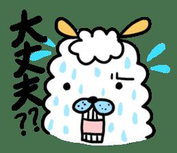To you a worrier.Alpaca Part 1 sticker #262950