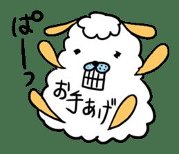 To you a worrier.Alpaca Part 1 sticker #262955