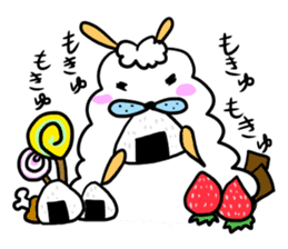 To you a worrier.Alpaca Part 1 sticker #262962