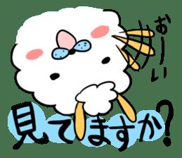 To you a worrier.Alpaca Part 1 sticker #262970