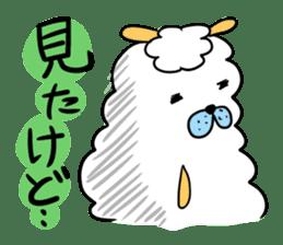 To you a worrier.Alpaca Part 1 sticker #262972