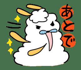 To you a worrier.Alpaca Part 1 sticker #262973