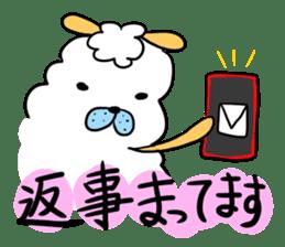 To you a worrier.Alpaca Part 1 sticker #262974