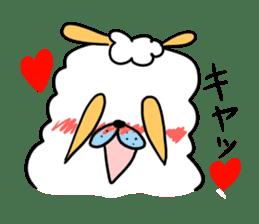To you a worrier.Alpaca Part 1 sticker #262982