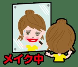 Message Girl No.2 sticker #263498