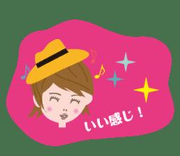 Message Girl No.2 sticker #263500