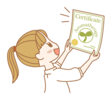 AROMATO -Aromatherapy sticker #263646