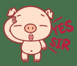 Piggy sticker #263986